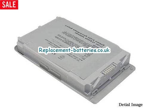 10.8V APPLE POWERBOOK G4 12 M9007B/A Battery 4400mAh
