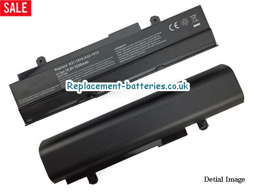 10.8V ASUS EEE PC 1011PN Battery 5200mAh