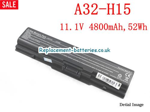11.1V ASUS A32-H15 SERIES Battery 4800mAh, 52Wh
