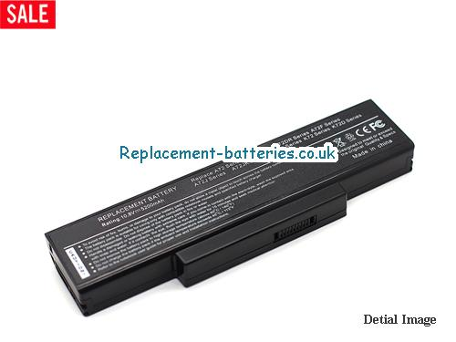 10.8V ASUS K72JK-X1 Battery 5200mAh