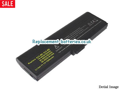 90-NDQ1B2000 Battery, 11.1V ASUS 90-NDQ1B2000 Battery 6600mAh