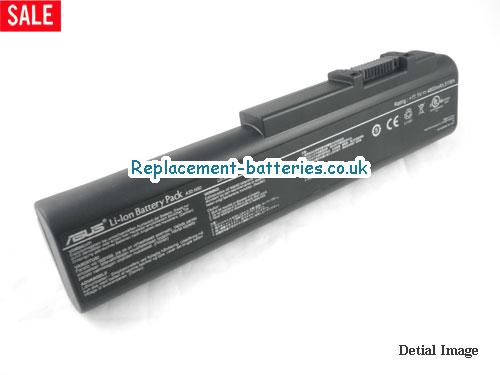 11.1V ASUS N51VF-X2 Battery 7200mAh, 80Wh