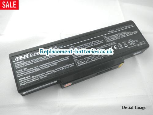 11.1V ASUS F3JC Battery 7200mAh