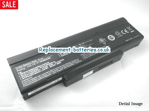 11.1V ASUS A9 SERIES Battery 7800mAh