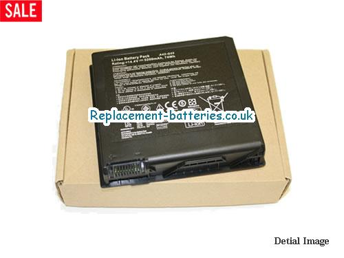 New A42-G55 Battery For Asus G55 G55V G55VM G55VW Series Laptop in United Kingdom and Ireland