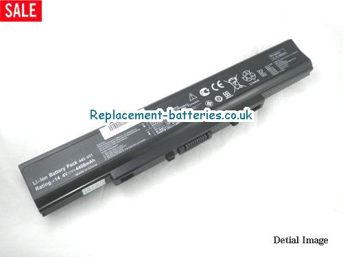 14.4V ASUS P31JC Battery 4400mAh