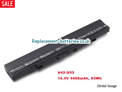 14.4V ASUS U43JC Battery 4400mAh