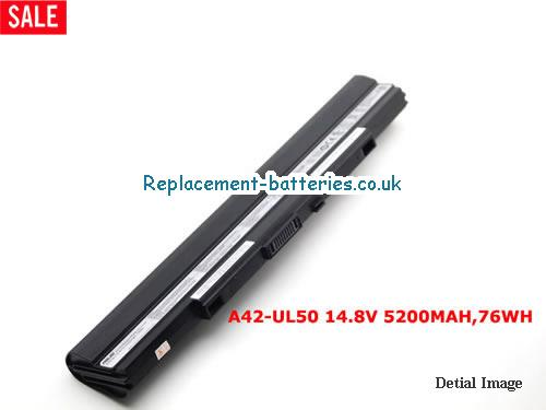 New Genuine Battery for Asus UL30VT-X1K UL50Vt-A1 UL80Vt A42-UL30 A42-UL50 A42-UL80 14.8V 5200mah in United Kingdom and Ireland
