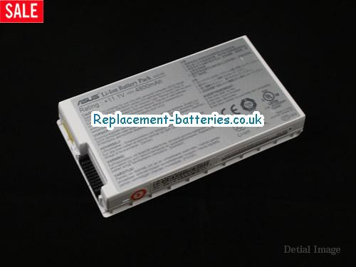 11.1V ASUS A8TC Battery 4800mAh