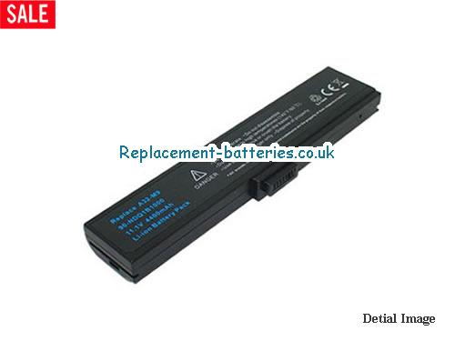 90-NDQ1B2000 Battery, 11.1V ASUS 90-NDQ1B2000 Battery 4400mAh