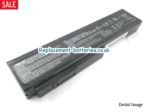 10.8V ASUS N61JV Battery 4400mAh