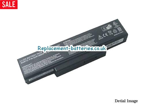 11.1V ASUS Z84JV Battery 4800mAh
