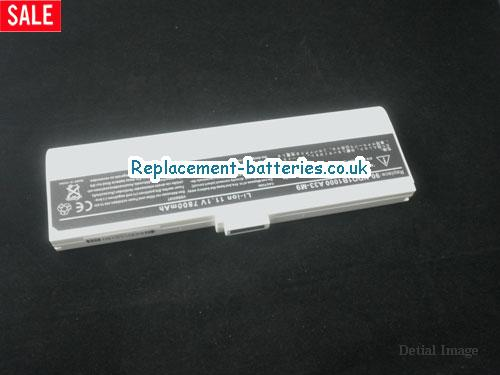 90-NDQ1B2000 Battery, 11.1V ASUS 90-NDQ1B2000 Battery 7800mAh