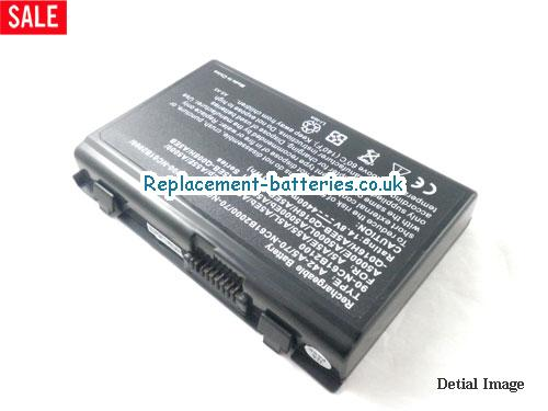 70-NC61B2100 Battery, 14.8V ASUS 70-NC61B2100 Battery 4400mAh