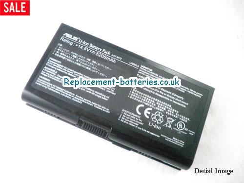14.8V ASUS X72JK Battery 5200mAh