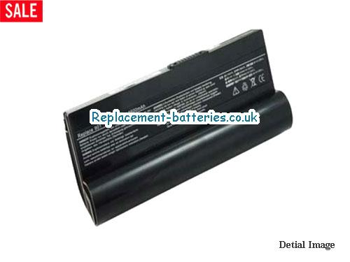 7.4V ASUS EEE PC 1000H 20GB Battery 4400mAh
