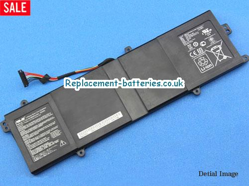 7.4V ASUS PRO ADVANCED BU400 ULTRABOOK SERIES Battery 6840mAh