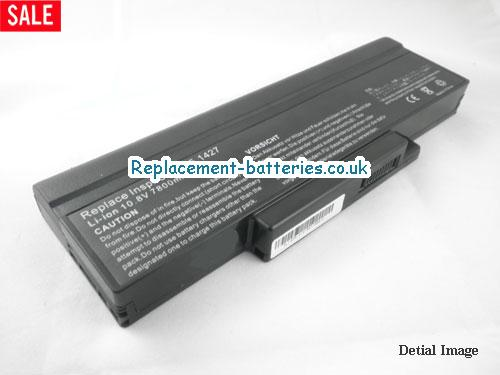 Asus BATEL80L9, A9, F3 F2 A9T Z53 Series Replacement Laptop Battery 9-Cell in United Kingdom and Ireland