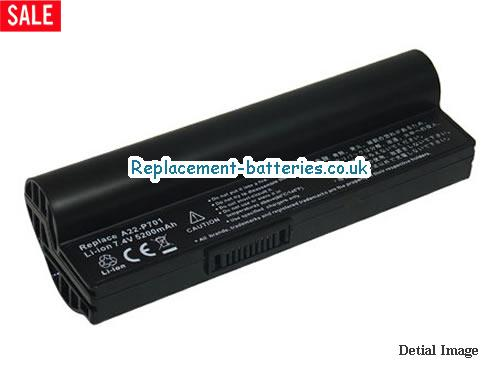 7.4V ASUS EEE PC 20G Battery 4400mAh