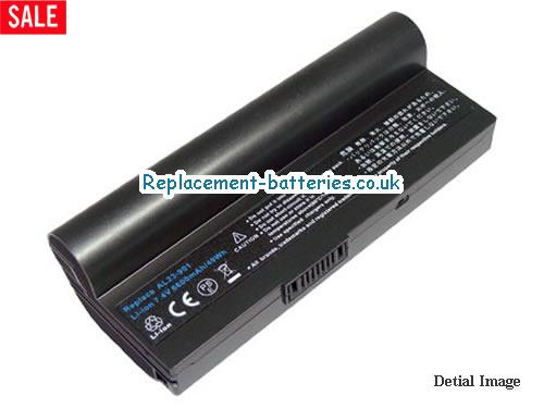 7.4V ASUS EEE PC 1000H 20GB Battery 6600mAh