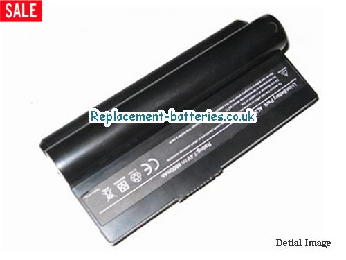 7.4V ASUS EEE PC 1000H 20GB Battery 8800mAh