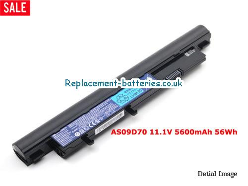 11.1V ACER ASPIRE 3810T-H22F Battery 5600mAh