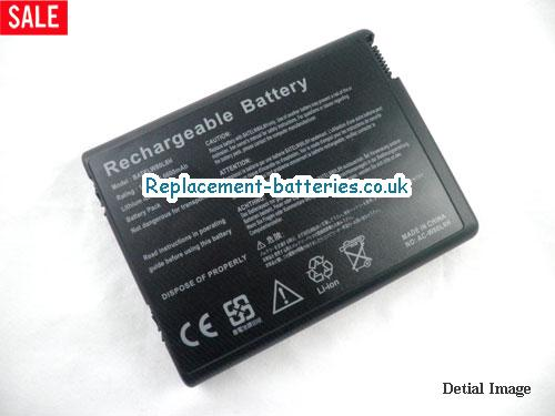 14.8V ACER TRAVELMATE 2202WLC Battery 6600mAh