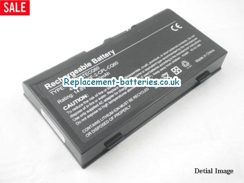 14.8V ACER ASPIRE 1801WSCI Battery 4000mAh