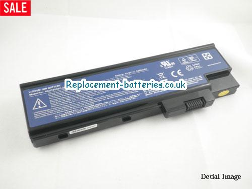 BT.00803.014 Battery, 14.8V ACER BT.00803.014 Battery 4400mAh