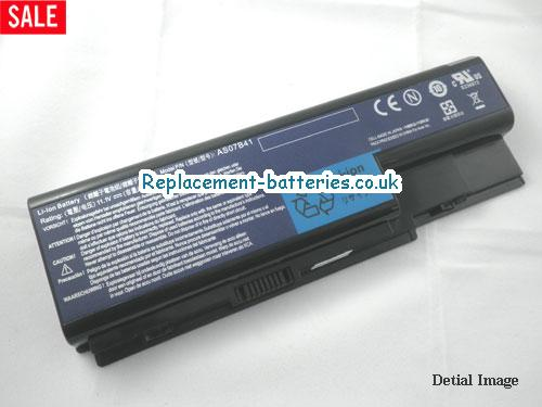 11.1V ACER ASPIRE 5310G Battery 4400mAh