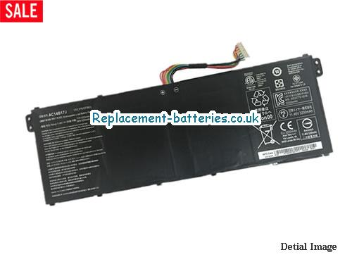 AC14B17J Battery, 11.46V ACER AC14B17J Battery 3320mAh, 38.04Wh