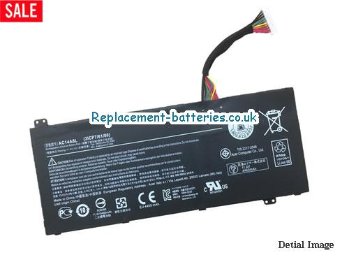 31CP76480 Battery, 11.4V ACER 31CP76480 Battery 4870mAh, 55.5Wh