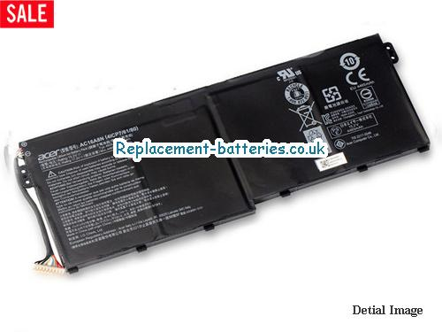 AC16A8N Battery, 15.2V ACER AC16A8N Battery 4605mAh, 50Wh