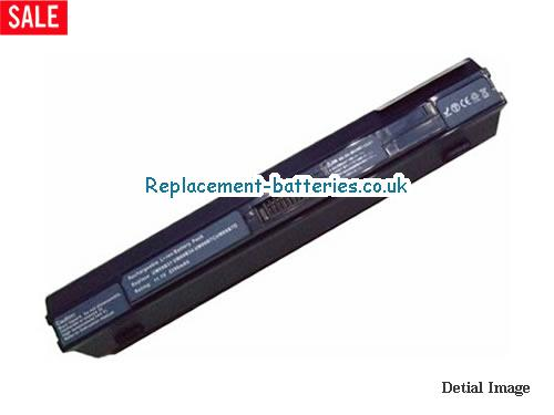 11.1V ACER ASPIRE ONE 751-BK23F Battery 5200mAh