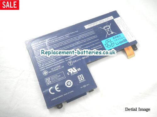 18BT00203003 Battery, 3.7V ACER 18BT00203003 Battery 6520mAh
