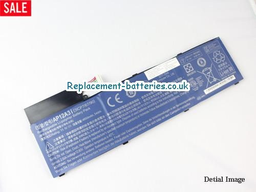 Genuine AP12A3i AP12A4i Battery For ACER Aspire Timeline Ultra M3 M5 M3-581TG M3-581TG U M5-481PT M5-581TG Series 4850mAh in United Kingdom and Ireland