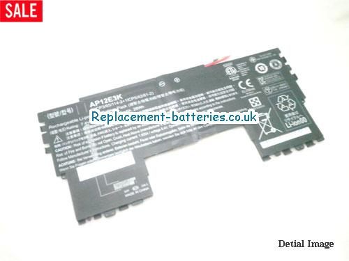 ACER AP12E3K Aspire S7-191 laptop battery 28Wh in United Kingdom and Ireland
