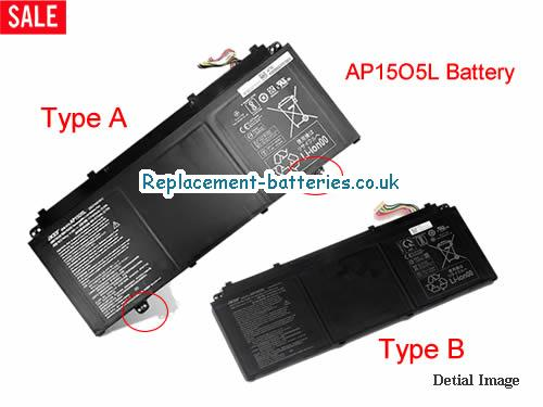 11.55V ACER ACER CHROMEBOOK R13 SERIES Battery 4670mAh, 53Wh