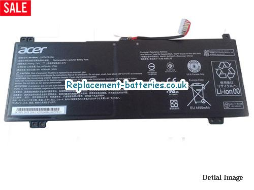 ACER AP16K4J Battery li-ion 37wh 4860mah 7.6V in United Kingdom and Ireland