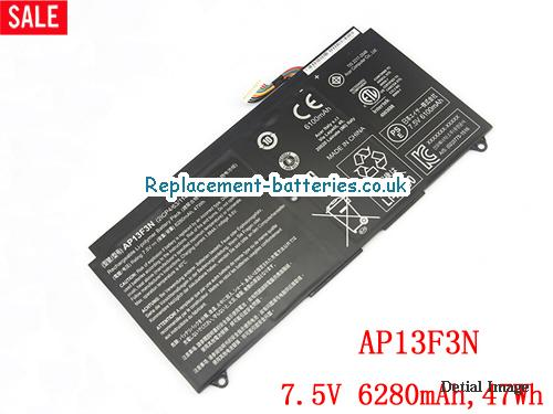 21CP4/63/114-2 Battery, 7.5V ACER 21CP4/63/114-2 Battery 6280mAh, 47Wh