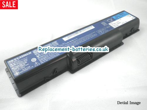 AS09A41 Battery, 11.1V GATEWAY AS09A41 Battery 46Wh