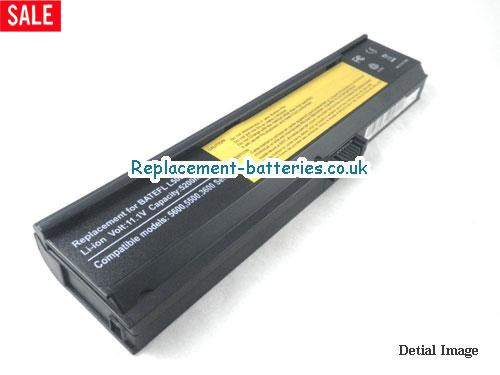 BT.00604.001 Battery, 11.1V ACER BT.00604.001 Battery 5200mAh