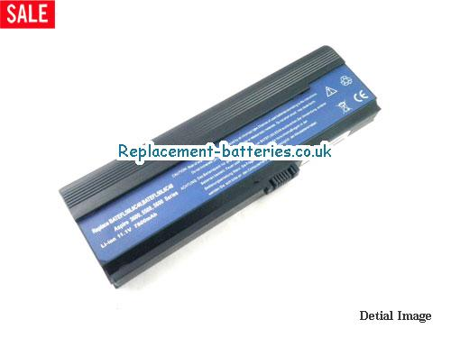 11.1V ACER TRAVELMATE 2480-2698 Battery 6600mAh