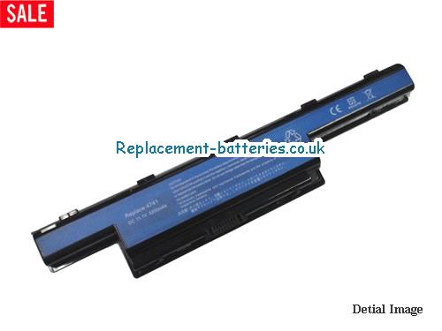 10.8V ACER ASPIRE 7741G Battery 5200mAh