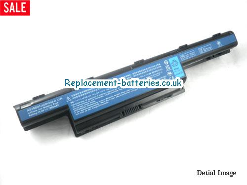 10.8V GATEWAY NV55C14U Battery 7800mAh
