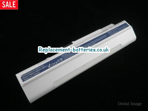 11.1V ACER ASPIRE ONE A150L WEISS Battery 4400mAh
