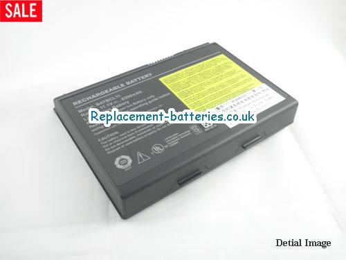 11.1V ACER TRAVELMATE 422 XC Battery 6300mAh
