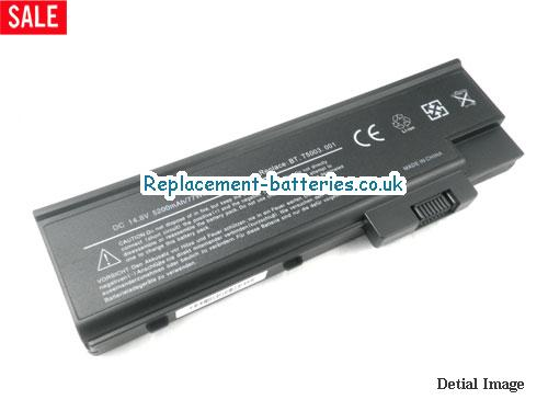 14.8V ACER TRAVELMATE 2304LMI Battery 4400mAh
