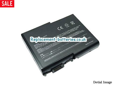 PP06L Battery, 14.8V ACER PP06L Battery 4400mAh
