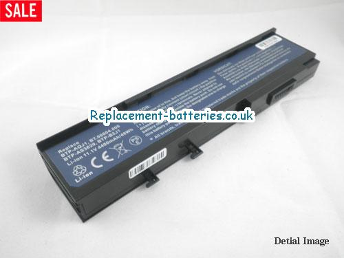11.1V ACER TRAVELMATE 6231-100508CI Battery 4400mAh